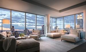 Vaizdas pro apartamentų langą